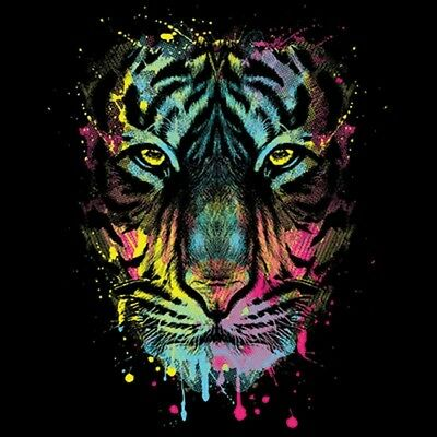 Dripping Tiger  T Shirt You Choose Style, Size, Color 10740