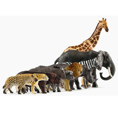 PNSO 10pc most popular Asian animals Family Zoo limited model education museum