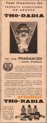 Original Vintage French Ad (1940): Tho-Radia