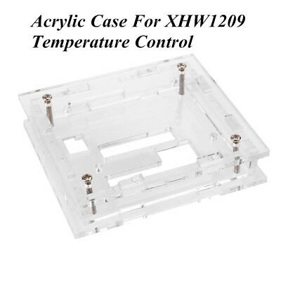 Acrylic Case Shell Box Protector For XH-W1209 Digital Temperature Control Module
