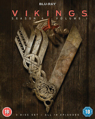 Vikings: Season 4 - Volume 1 Blu-ray (2016) Travis Fimmel cert 18 3 discs