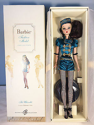 2007 The Usherette Barbie Doll - BFMC Gold Label Silkstone - NRFB