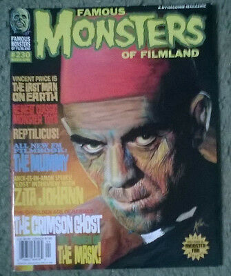 famous monsters of filmland #230,march,2000,new condition,bagged & boarded