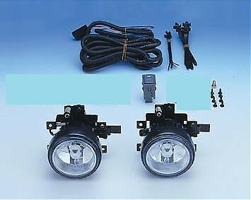 Fit 1999-2002 Honda HRV Clear Fog Lights Driving Bumper Lamp+Switch
