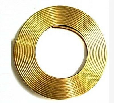 Gold 5M FLEXIBLE TRIM FOR CAR INTERIOR EXTERIOR MOULDING STRIP DECORATIVE LINE