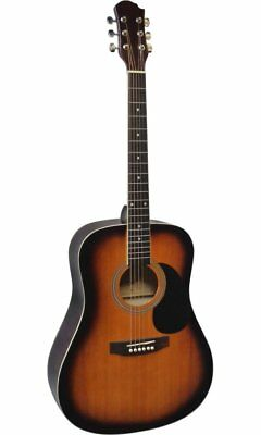 Guitare Acoustique Folk 4/4 Coloris Sunburst