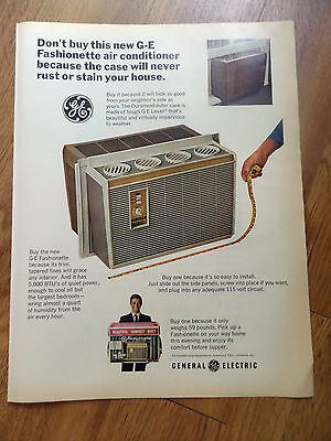 1966 GE General Electric Air Conditioner Ad