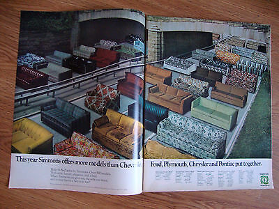 1971 Simmons Hide-A-Bed Sofas Ad