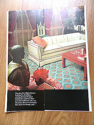 1969 Simmons Hide-A-Bed Sofas Ad   Mrs Philip Becker