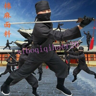 New Mens Ancient Costume Wwordsman Nocturnal Clothing Cosplay Stage Dress Casual