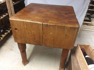 Vintage Butcher Block