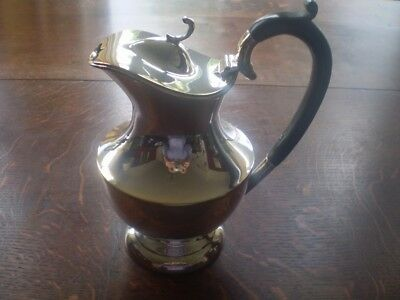 Silver plated wine ewer