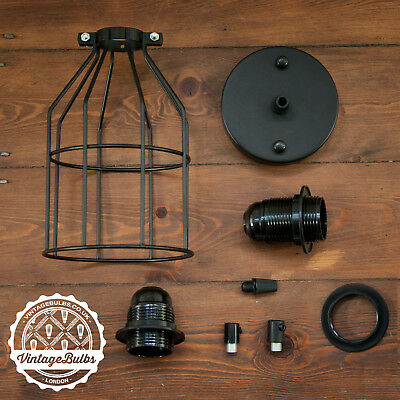 Vintage Black collection antique retro style light fittings accessories