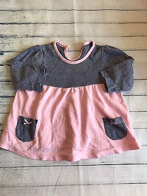 Baby Girls Clothes 3-6 Months - Pretty  Tunic Top -