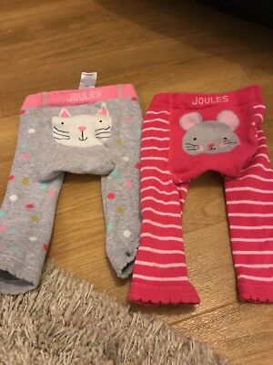 Joules Girls 6-12 Month Footless Tights