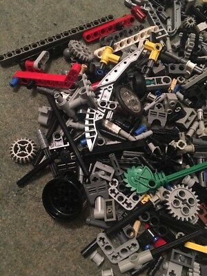 LEGO Technics Mixed Various Bits And Pieces Unsorted Good Condition