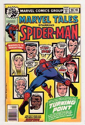 Marvel Tales #98 Death of Gwen Stacy ASM 121 Reprint 1978 FN/VF 7.0