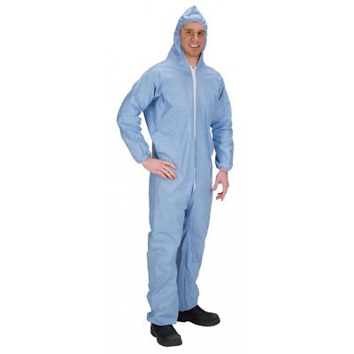 Lakeland Ind. 07428 Pyrolon Plus 2 Coverall Blue 3X