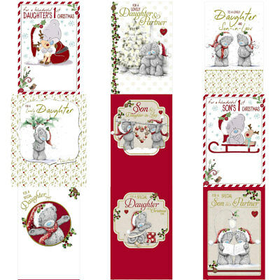 Me to You Bear Daughter & Son Christmas Cards