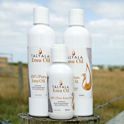 Talyala 100% Pure Emu Oil with no added preservatives (100ml/250ml)