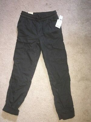 Gap Boys Lined Pants, Gray, Large Size 10, New With Tags