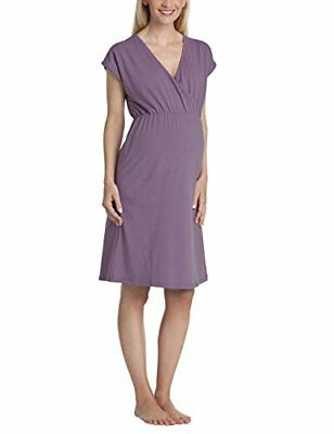 Anita maternity Nachthemd Ines-camisón premamá Mujer    Mehrfarbig (light grape