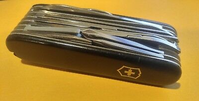 Victorinox Swiss Army Knife Champion Officier Suisse in Black