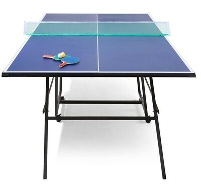 Family Game Table Tennis Table Ping Pong Sports Portable Foldable 274 x 152 cm