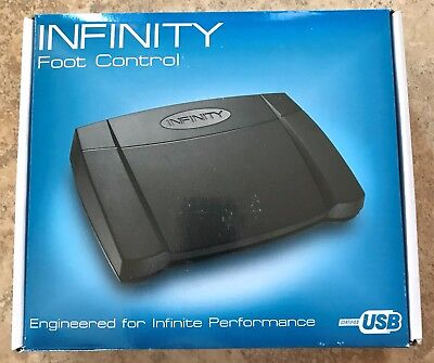 Infinity Foot Control Pedal IN-USB-2