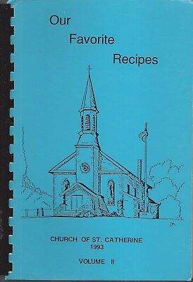 Prior Lake Mn 1993 St Catherine's Catholic Church Cook Book Our Favorite Recipes