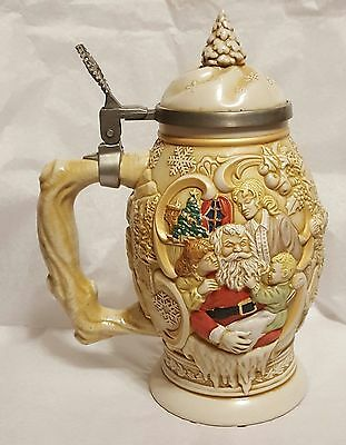 "Avon "" Father Christmas"" Beer Stein"