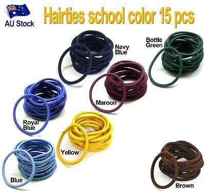 30 pcs Snagless Hair Tie / Hair Band / Hair Elastic / Ponytailer School colors