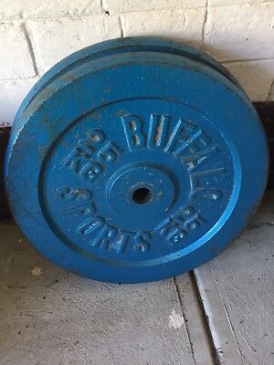 2 x 25kg Weight Plates
