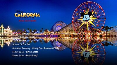 California Adventure Shows And Parades Blu-Ray 3/3 (Golden Dreams)