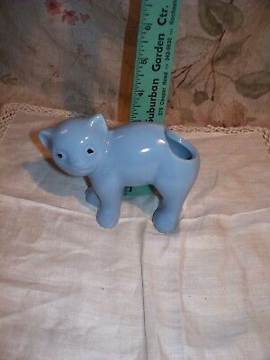 Charming Vintage Cat Planter- Used- Great Color And Style- ??? Mc Coy??weller??