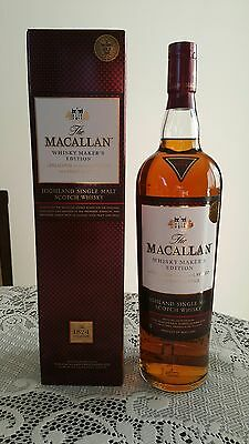Macallan Scotch Whisky Rare 1L Whisky Makers Edition! Duty Free 1824 Collection!