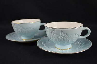 Set Of Two Fine Bone China Tea Cup&saucer 220Ml
