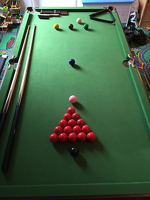 Snooker Table 3ft X 6ft