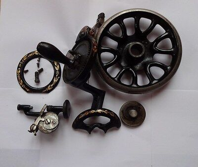 Victorian Singer 27/28.hand Crank / Balance Wheel/bobbin Assy/belt Guard/ Parts