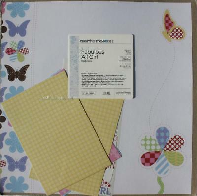 Creative Memories Fabulous All Girl 12x12 Additions
