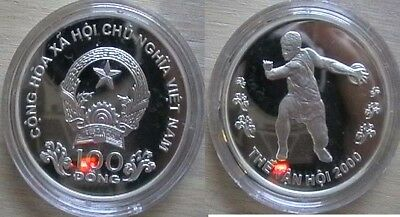 Vietnam for Sydney olympic 2000 Nice silver proof coin