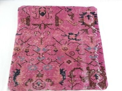 Antique Turkoman Hand Woven Wool Kilim - Continental Pillow Cover Made in Turkey