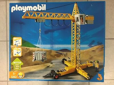 3262 baukran bau baustelle kran playmobil ovp plan sehr. Black Bedroom Furniture Sets. Home Design Ideas