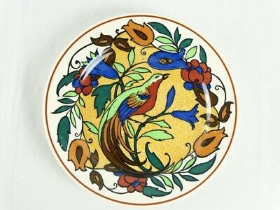 Antique 1930s Royal Doulton BIRD OF PARADISE (D4602) - Cabinet Plate England