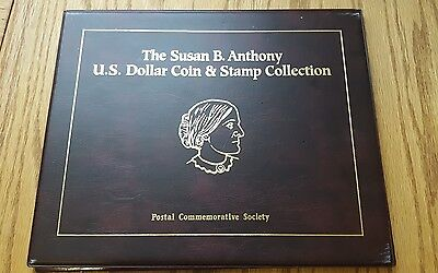 Susan B. Anthony Collection  Postal Commemorative Society - Coin & Stamp  P D S