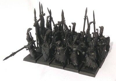 Warhammer or Kings of War High Elves 15x High Elf Lothern Sea Guard Lot2