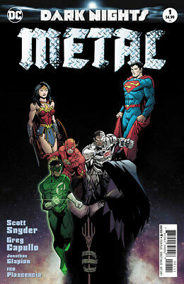 Dark Nights: Metal #1 (Batman) First Print Foil Cover, Mint!