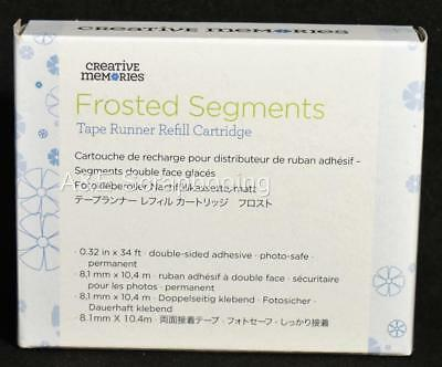 Creative Memories Frosted Segments Tape Runner Refill Cartridge