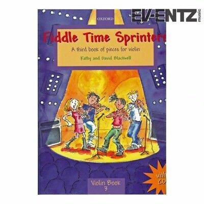 Fiddle Time Sprinters violin Book 3 with Cd