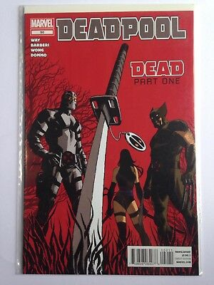 DEADPOOL no. 50 NM (2008 second ongoing series) FIRST PRINT  High grade